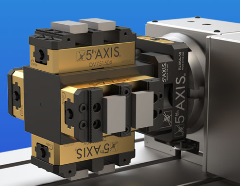 Dual Station 5th Axis Workholding