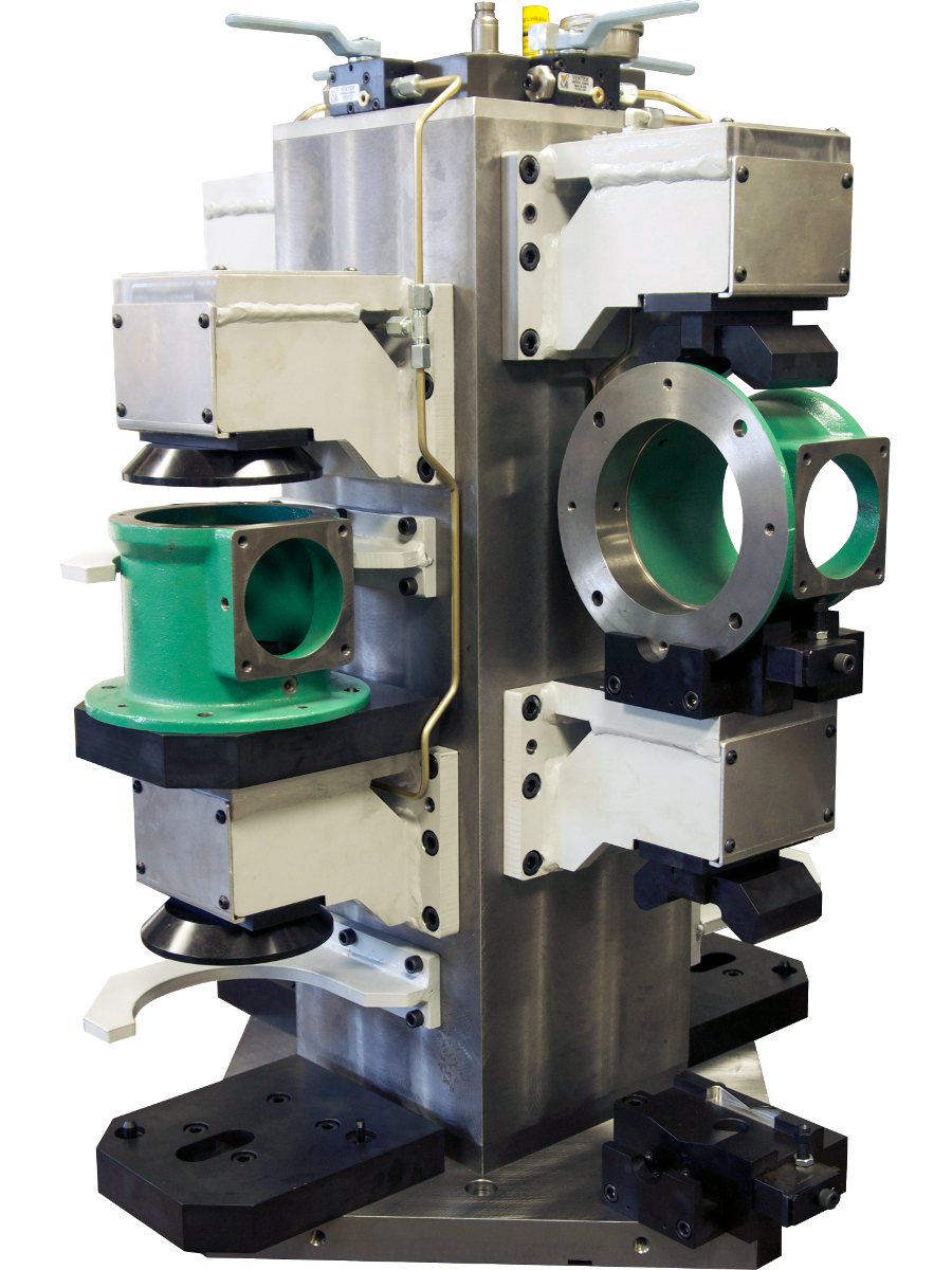 custom dedicated workholding fixtures advanced machine