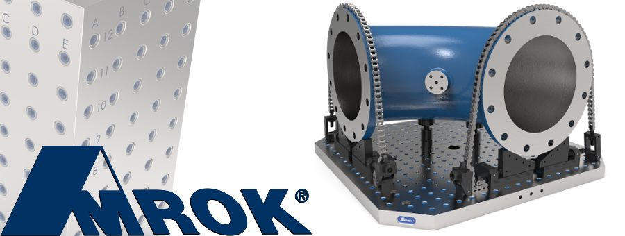AMROK Modular workholding & Fixturing Components