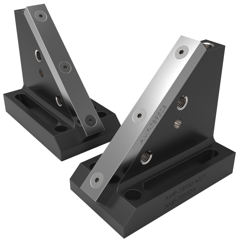 V Blocks & Chain / Cable Clamping