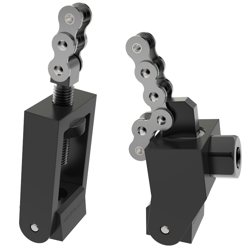 cable clamping chain and cable standard duty