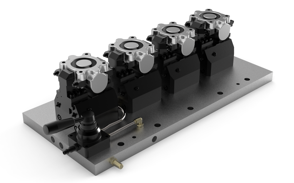 Pneumatic Workholding Fixtures