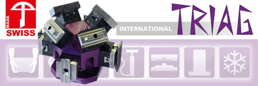 TRIAG Modular Workholding & Fixturing Components